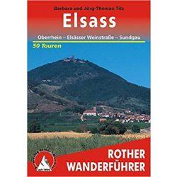 Elsass túrakalauz Bergverlag Rother német   RO 4313
