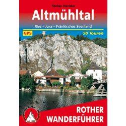 Altmühltal túrakalauz Bergverlag Rother német   RO 4315