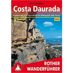 Costa Daurada túrakalauz Bergverlag Rother német   RO 4326