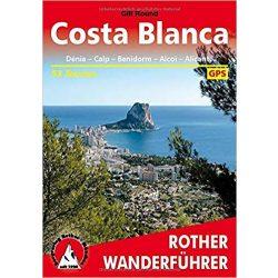 Costa Blanca túrakalauz Bergverlag Rother német   RO 4327