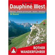Dauphiné West – Vercors I Drome provencale I Buech I Devoluy túrakalauz Bergverlag Rother német   RO 4334