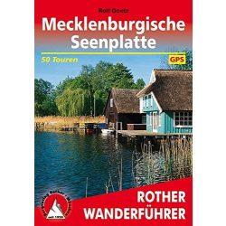 Mecklenburgische Seenplatte túrakalauz Bergverlag Rother német   RO 4356