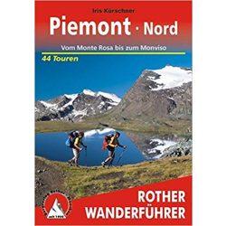 Piemont Süd – Vom Monviso bis zu den Ligurischen Alpen túrakalauz Bergverlag Rother német   RO 4359