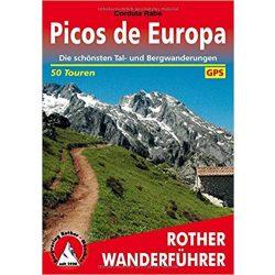 Picos de Europa túrakalauz Bergverlag Rother német   RO 4361