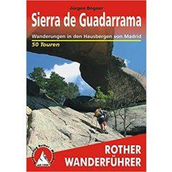 Sierra de Guadarrama túrakalauz Bergverlag Rother német   RO 4362