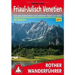 Friaul I Julisch Venetien túrakalauz Bergverlag Rother német   RO 4364