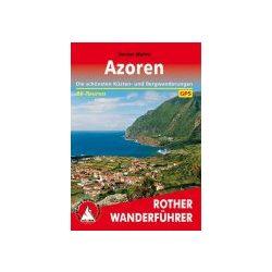 Azoren túrakalauz Bergverlag Rother német   RO 4367
