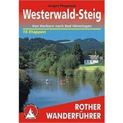 Westerwald Steig túrakalauz Bergverlag Rother német   RO 4376