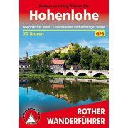 Hohenlohe túrakalauz Bergverlag Rother német   RO 4377