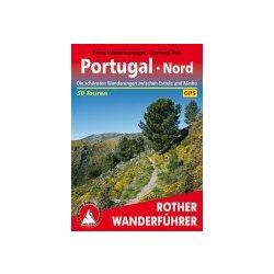 Portugal Nord túrakalauz Bergverlag Rother német   RO 4379