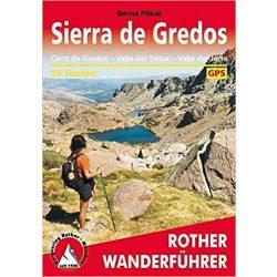 Sierra de Gredos túrakalauz Bergverlag Rother német   RO 4381