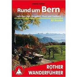 Bern, Rund um túrakalauz Bergverlag Rother német   RO 4383