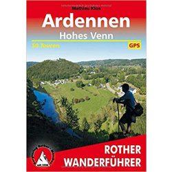 Ardennen – Hohes Venn túrakalauz Bergverlag Rother német   RO 4391