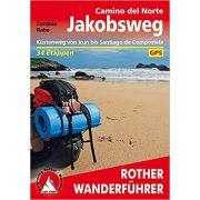 Camino del Norte túrakalauz Bergverlag Rother német   RO 4392