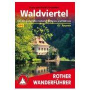Waldviertel túrakalauz Bergverlag Rother német   RO 4400