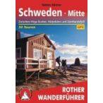 Schweden Mitte – Zwischen Höga Kusten, Härjedalen und Jämtlandsfjäll túrakalauz Bergverlag Rother német   RO 4406