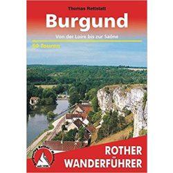 Burgund – Von der Loire bis zur Saone túrakalauz Bergverlag Rother német   RO 4408