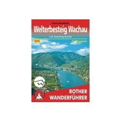 Welterbesteig Wachau túrakalauz Bergverlag Rother német   RO 4411