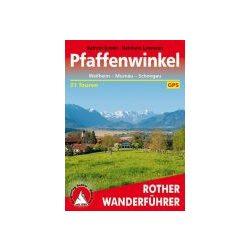 Pfaffenwinkel túrakalauz Bergverlag Rother német   RO 4418