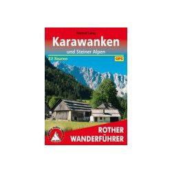 Karawanken und Steiner Alpen túrakalauz Bergverlag Rother német   RO 4424