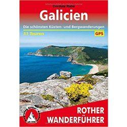 Galicien túrakalauz Bergverlag Rother német   RO 4428