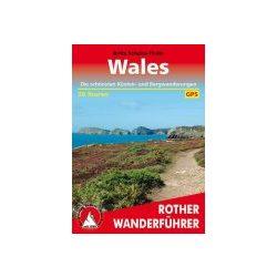 Wales túrakalauz Bergverlag Rother német   RO 4429