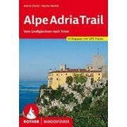 Alpe Adria Trail túrakalauz Bergverlag Rother német   RO 4431