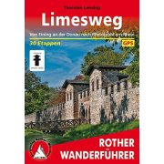 Limesweg túrakalauz Bergverlag Rother német   RO 4432