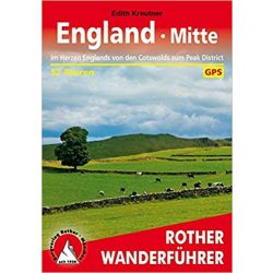 England Mitte – Cotswolds bis Peak District túrakalauz Bergverlag Rother német   RO 4449