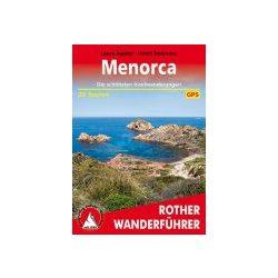 Menorca túrakalauz Bergverlag Rother német   RO 4450