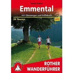 Emmental mit Oberaargau und Entlebuch túrakalauz Bergverlag Rother német   RO 4451