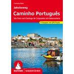 Camino Portugues  túrakalauz Bergverlag Rother német   RO 4452