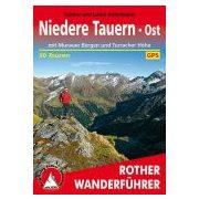 Niedere Tauern Ost túrakalauz Bergverlag Rother német   RO 4453