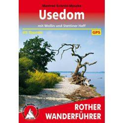 Usedom – Mit Wollin und Stettiner Haff túrakalauz Bergverlag Rother német   RO 4458