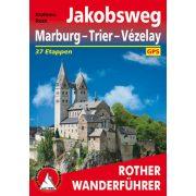 Marburg I Trier I Vezelay túrakalauz Bergverlag Rother német   RO 4474