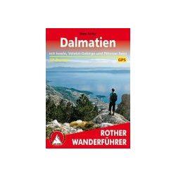 Dalmatien túrakalauz Bergverlag Rother német   RO 4476