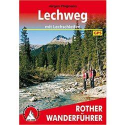 Lechweg – Mit Lechschleifen túrakalauz Bergverlag Rother német   RO 4481