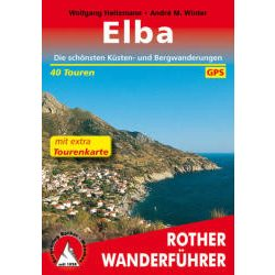 Elbamit extra Tourenkarte túrakalauz Bergverlag Rother német   RO 4482