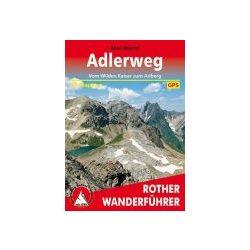 Adlerweg túrakalauz Bergverlag Rother német   RO 4490