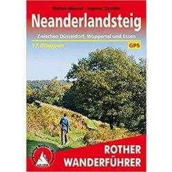 Neanderlandsteig – Zwischen Düsseldorf, Wuppertal und Essen túrakalauz Bergverlag Rother német   RO 4493