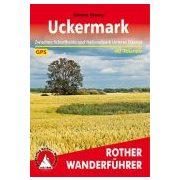 Uckermark túrakalauz Bergverlag Rother német   RO 4497