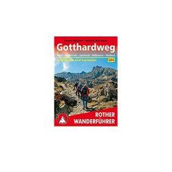 Gotthardweg – Von Basel nach Mailand túrakalauz Bergverlag Rother német   RO 4506