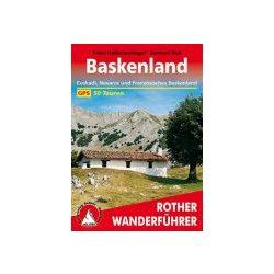 Baskenland túrakalauz Bergverlag Rother német   RO 4513