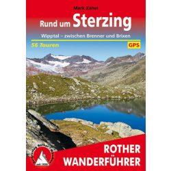 Sterzing, Rund um – Wipptal I Zwischen Brenner und Brixen túrakalauz Bergverlag Rother német   RO 4520