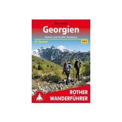 Georgien túrakalauz Bergverlag Rother német   RO 4525