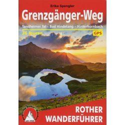 Grenzgänger-Weg – Allgäu I Tannheim I Bad Hindelang túrakalauz Bergverlag Rother német   RO 4531