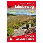 Camino Primitivo túrakalauz Bergverlag Rother német   RO 4532