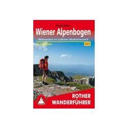Wiener Alpenbogen túrakalauz Bergverlag Rother német   RO 4535