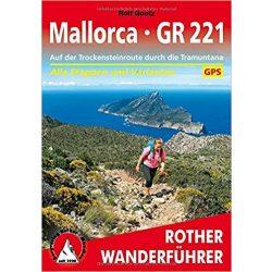 Mallorca – GR 221 túrakalauz Bergverlag Rother német   RO 4541
