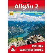 Allgäu 2 – Ostallgäu und vorderes Lechtal túrakalauz Bergverlag Rother német   RO 4542